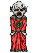 Evil servant Stock Illustration