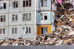 Demolition House. - stock photo