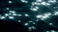 sea ocean water sparkles abstract pattern light - stock footage