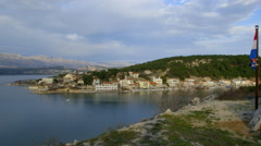 NOVIGRAD  CROATIA Stock Footage