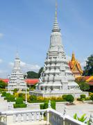 Royal Palace in Phnom Penh - stock photo