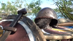 Replica of medieval ammunition Arkistovideo