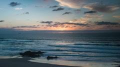 Portugal beach wild coast atlantic nature environment Stock Footage