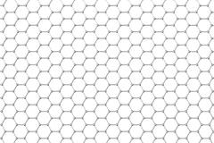 Graphene atomic structure, nanotechnology background. 3d illustration Stock Illustration