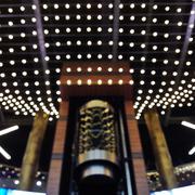 Bokeh Lights Of Shopping Mall - stock photo