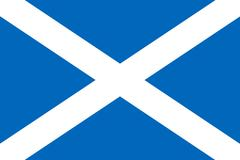 Flag of Scotland - vector graphics Piirros