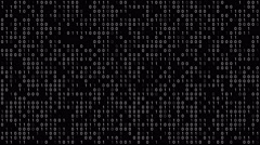 Binary Code Background Stock Footage