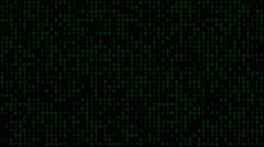 Binary Code Background - stock footage