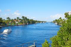 Del Ray Delray beach Gulf Stream Florida - stock photo