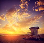 Fort Lauderdale beach sunrise Florida US Kuvituskuvat