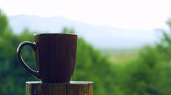 Coffee Mug and Coffee Plantation Arkistovideo