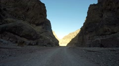 Death Valley National Park, Titus Canyon Drive - stock footage