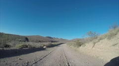 Death Valley National Park, Titus Canyon Drive Stock Footage