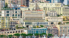 Slideshow of Monaco Attractions Stock Footage