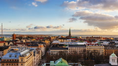 Slideshow of Helsinki Attractions Stock Footage