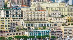 Slideshow of Monaco Attractions Stock Footage