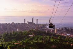 resort town of Batumi - stock photo