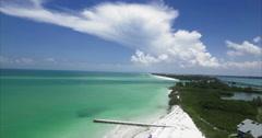 Lido Key Sarasota Florida Stock Footage
