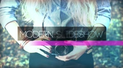 Modern Slideshow Stock After Effects