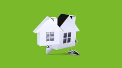 Fun house - Digital animation Stock Footage