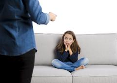 Bad behavior punishment - stock photo