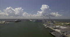 Port Canaveral Stock Footage