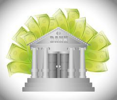 Save money design - stock illustration