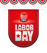 Labor day design Stock Illustration