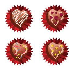 Choco Love - stock illustration