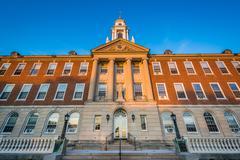 McDonough Hall, at the University of Saint Joseph, in Hartford, Connecticut. Stock Photos