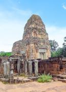 Pre Rup temple at Angkor - stock photo