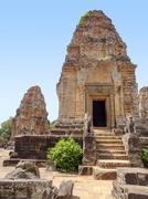 Pre Rup temple at Angkor Stock Photos