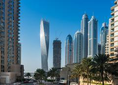 View of Dubai Marina, United Arab Emirates Stock Photos