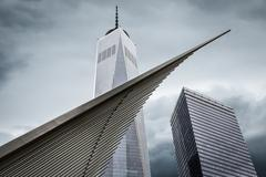 Freedom Tower. One World Trade Center - stock photo