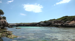 A place of natural charm Mallorca Stock Footage