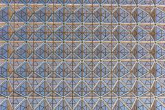 Modern building roof geometric design background Stock Photos