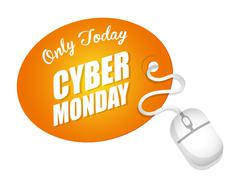 Cyber mondays e-commerce promotions and sales Piirros