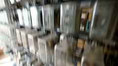 Power generation equipment Stock Footage