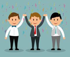 Business entrepreneur Stock Illustration