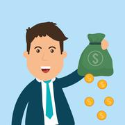 Business investors - stock illustration