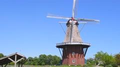 Windmill in Holland Michigan - stock footage