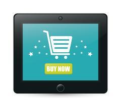 Cyber monday ecommerce design - stock illustration