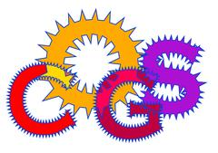 cogs - stock illustration
