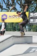 Joao Santos during the DC Skate Challenge - stock photo