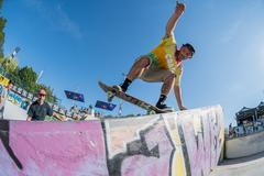 Francisco Lopez during the DC Skate Challenge - stock photo