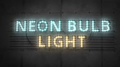 Neon Bulb Light Pack - stock after effects