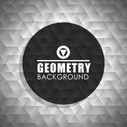 Geometry wallpaper or background Stock Illustration