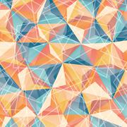Geometry wallpaper or background - stock illustration