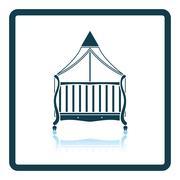 Cradle icon Stock Illustration