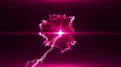 Neon Pink Magical Portal - 9 - stock footage
